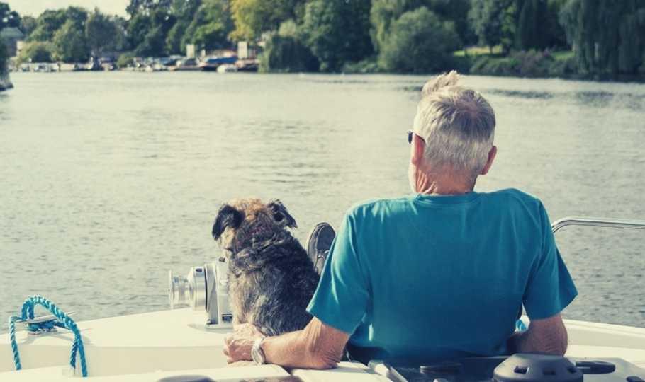 crociera fluviale con il cane